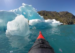 Kayak at Ice. By Visit Greenland
