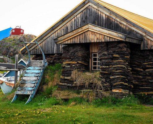 House in Sisimiut. By Visit Greenland