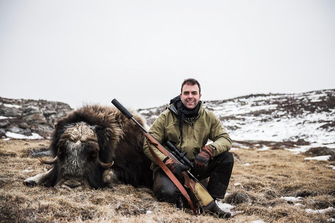 Trophy Hunting Greenland - musk-ox-winter-hunt-2018