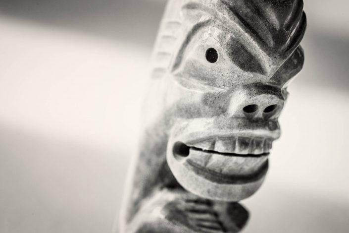 The face of a present day tupilak from East Greenland. By Mads Pihl