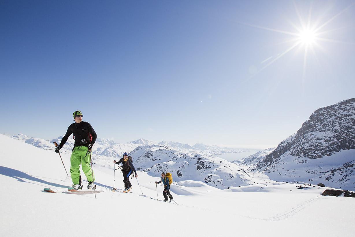 An Eternity of ski touring. Photo by Fredrik Schenholm.