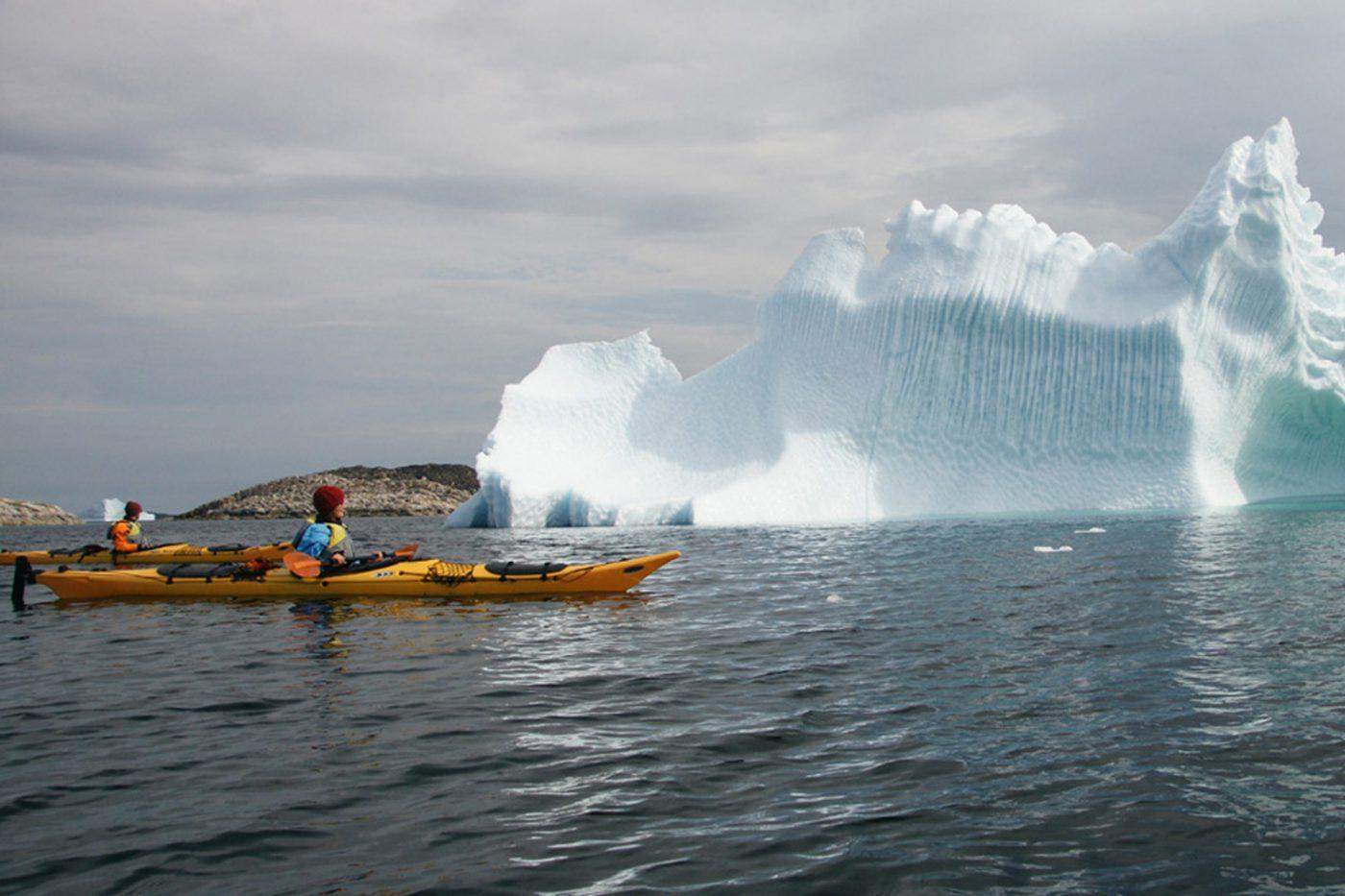 Grönlandsresor – Kayaking among whales and icebergs, 8 days