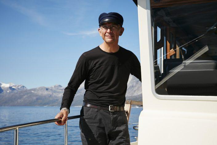 Erik Palo Jacobsen, Arctic Boat Charter. Photo by Jonathan Pozniak