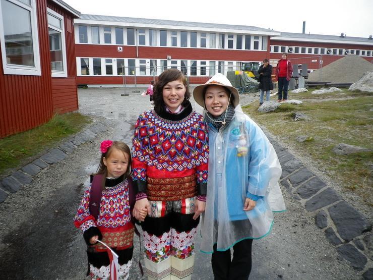 First day of school in Nanortalik. By Kim Insuk