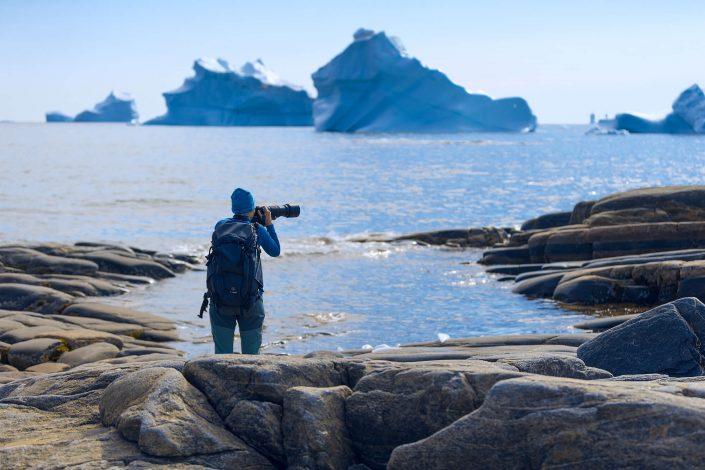 Greenland photographer - Disko Island beach. Photo by Karim Sahai.