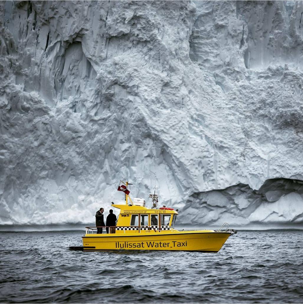 @NuukWaterTaxi – Et blik på Nuuk fra havet