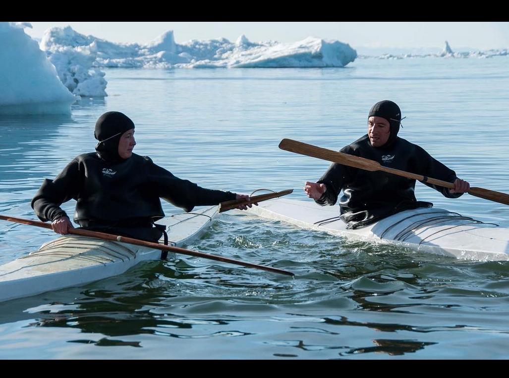 @pgigreenland – At sejle kajak i Ilulissat