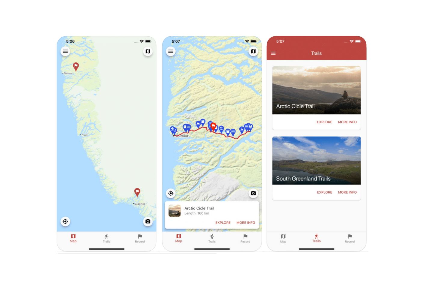 Greenland GPS App