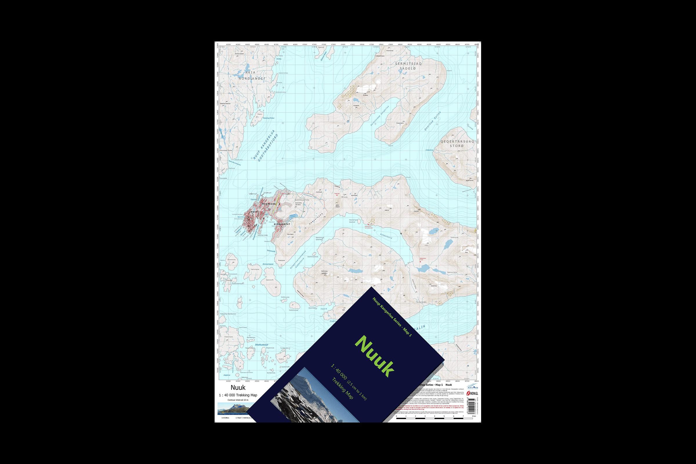 Nuup Kngerlua Hiking Map Series
