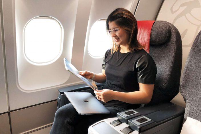 Air Greenland flight