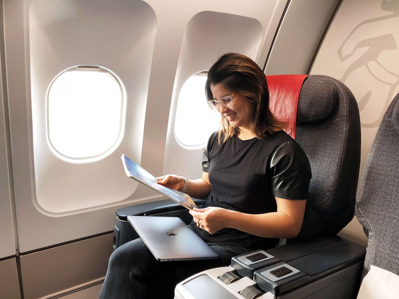 Air Greenland passenger