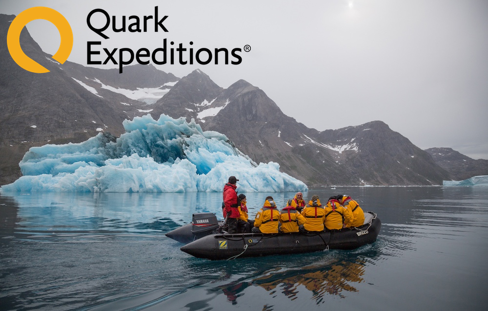 Quark Expeditions: Cruise East Greenland's Fjords