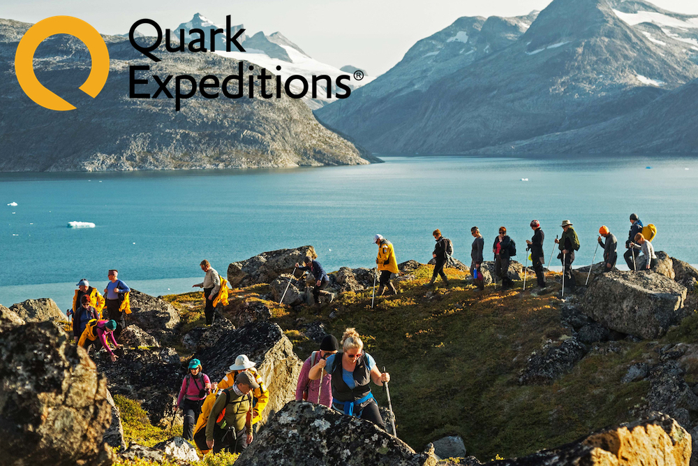 Quark Expeditions: Hike Greenland's Valleys and Fjords