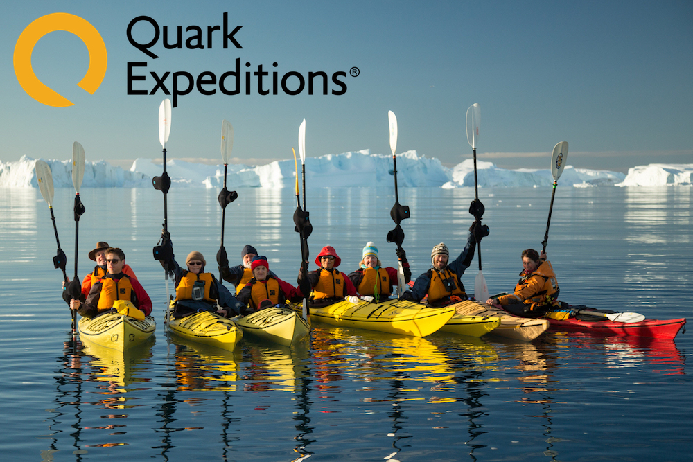 Quark Expeditions: Kayak in Northwest Greenland