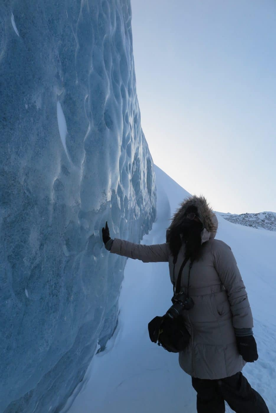 Greenland Ice Sheet. Ilulissat. Photo by Vibha Dania-Dhawan