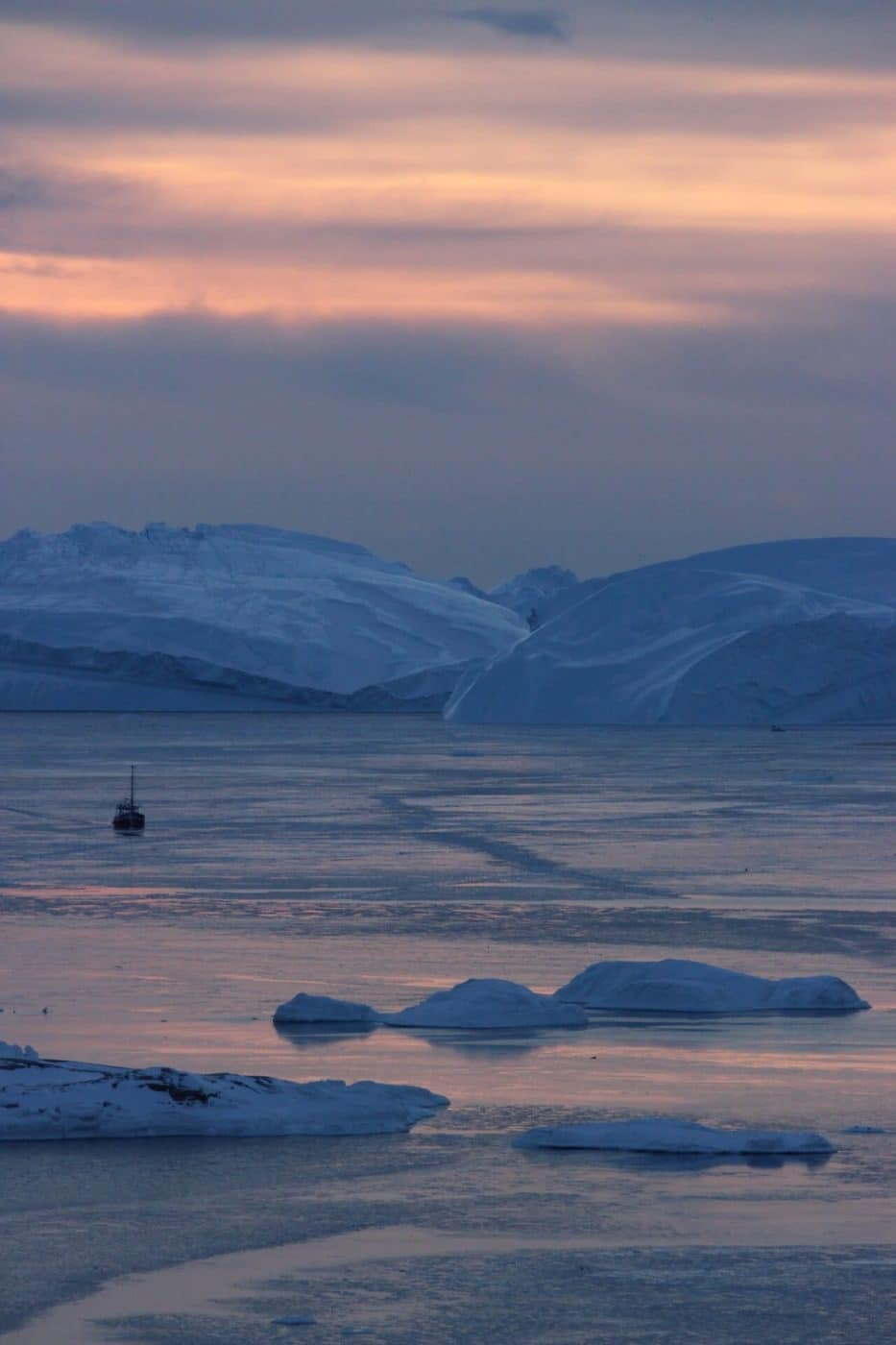 Hotel Arctic sunset. Ilulissat. Photo by Vibha Dania-Dhawan