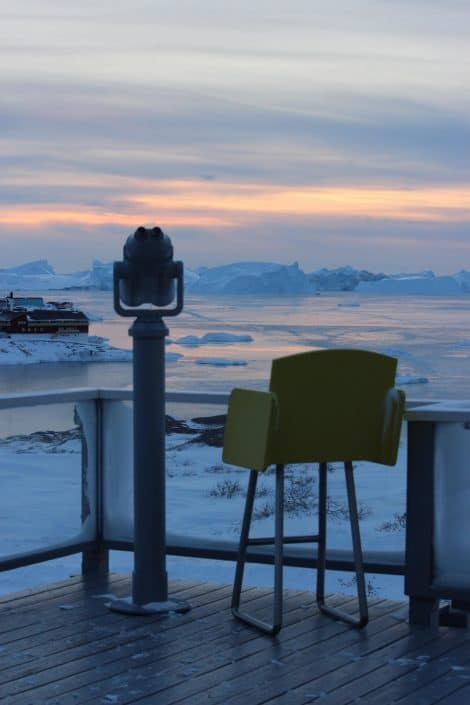 Hotel Arctic Terrace. Ilulissat. Photo by Vibha Dania-Dhawan