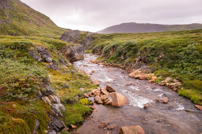 River crossing - Day 7 of Arctic Circle Trail. Photo by Lisa Germany.