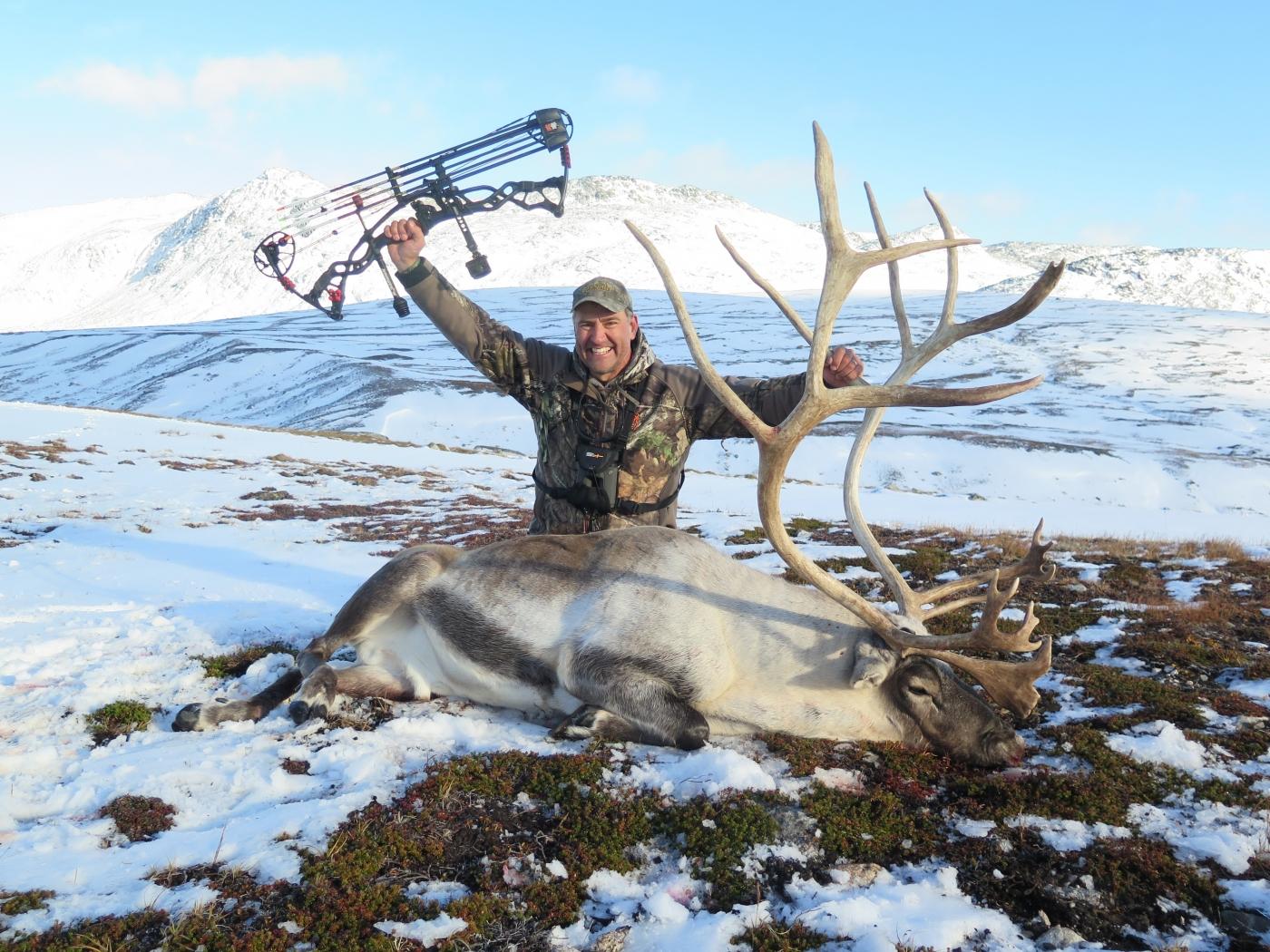 Bowhunting Greenland: Caribou Hunting 2019-20