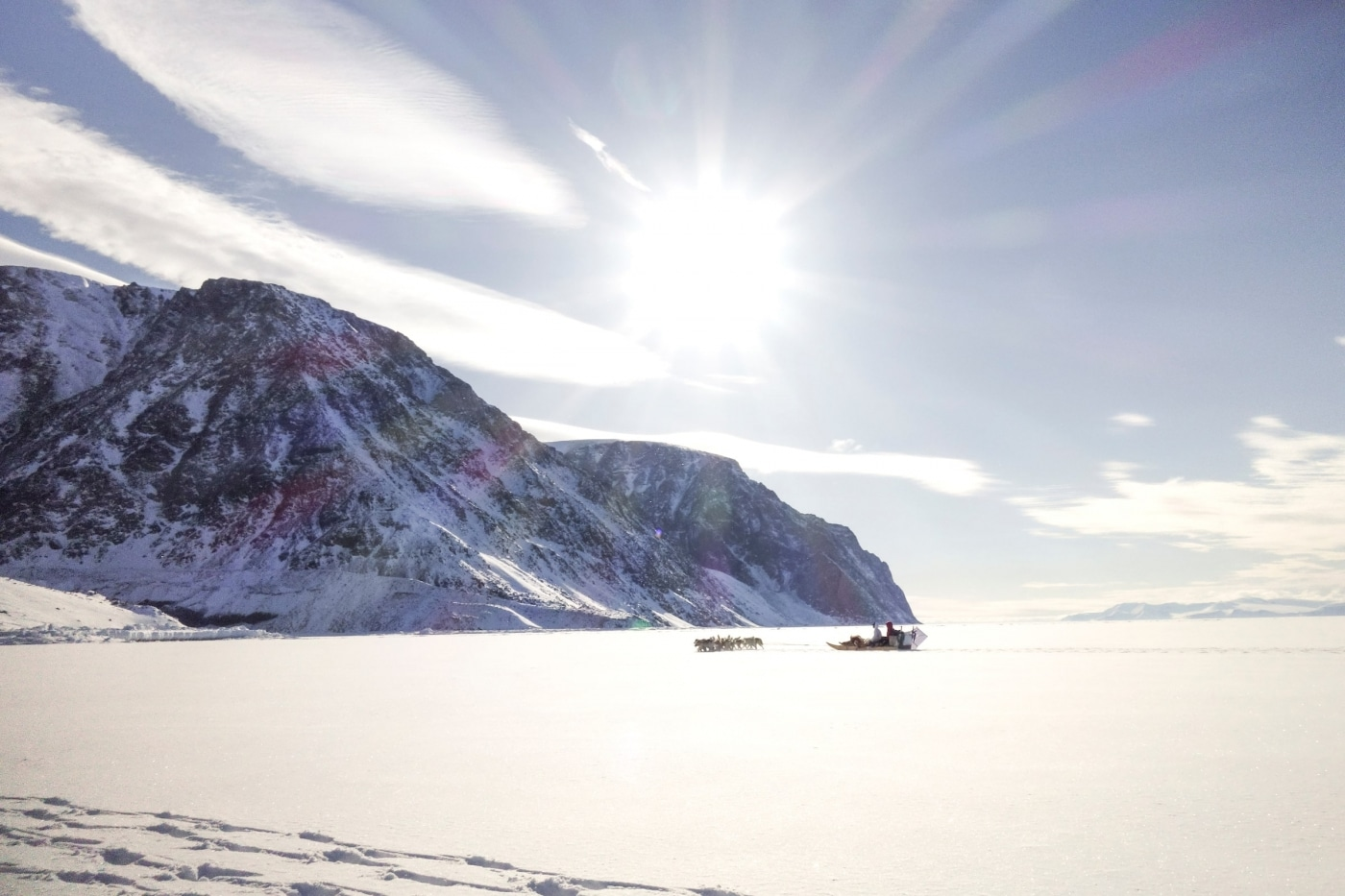 Sea Ice Outside Qaanaaq. Photo by Kim Insuk - Visit Greenland