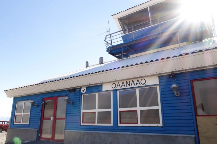 Qaanaaq Airport. Photo by Kim Insuk