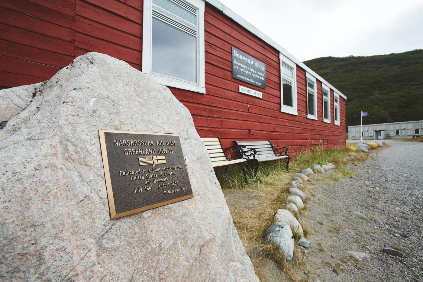 "Narsarsuaq Museum with items from American base ""Bluie West One"". Photo by Peter Lindstrøm - Visit Greenland"