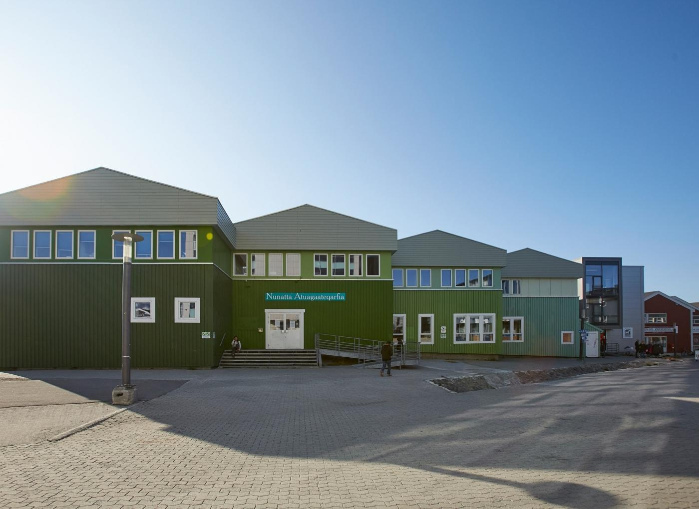 Library Nuuk - Peter Lindstrom - Visit Greenland