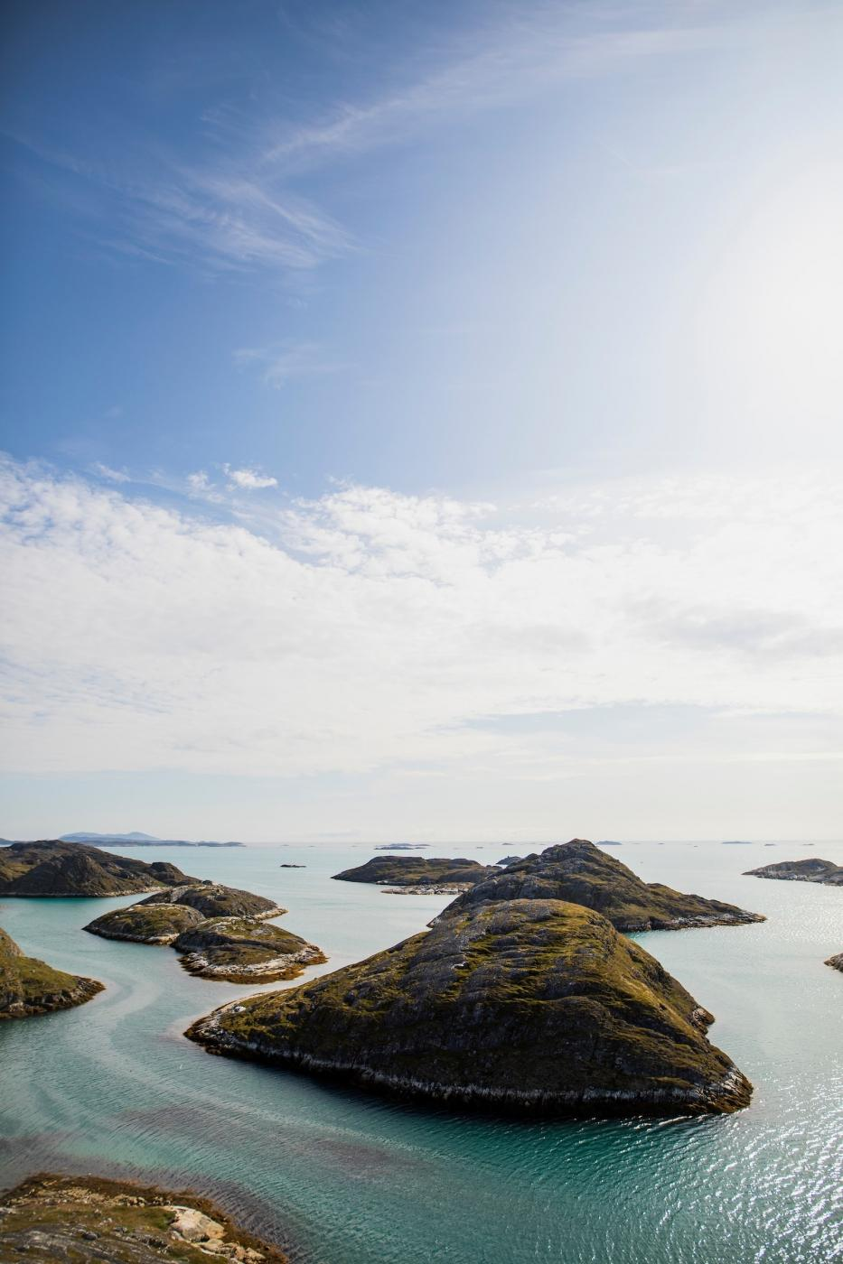 Islands near Paamiut. Photo by Aningaaq R Carlsen - Visit Greenland