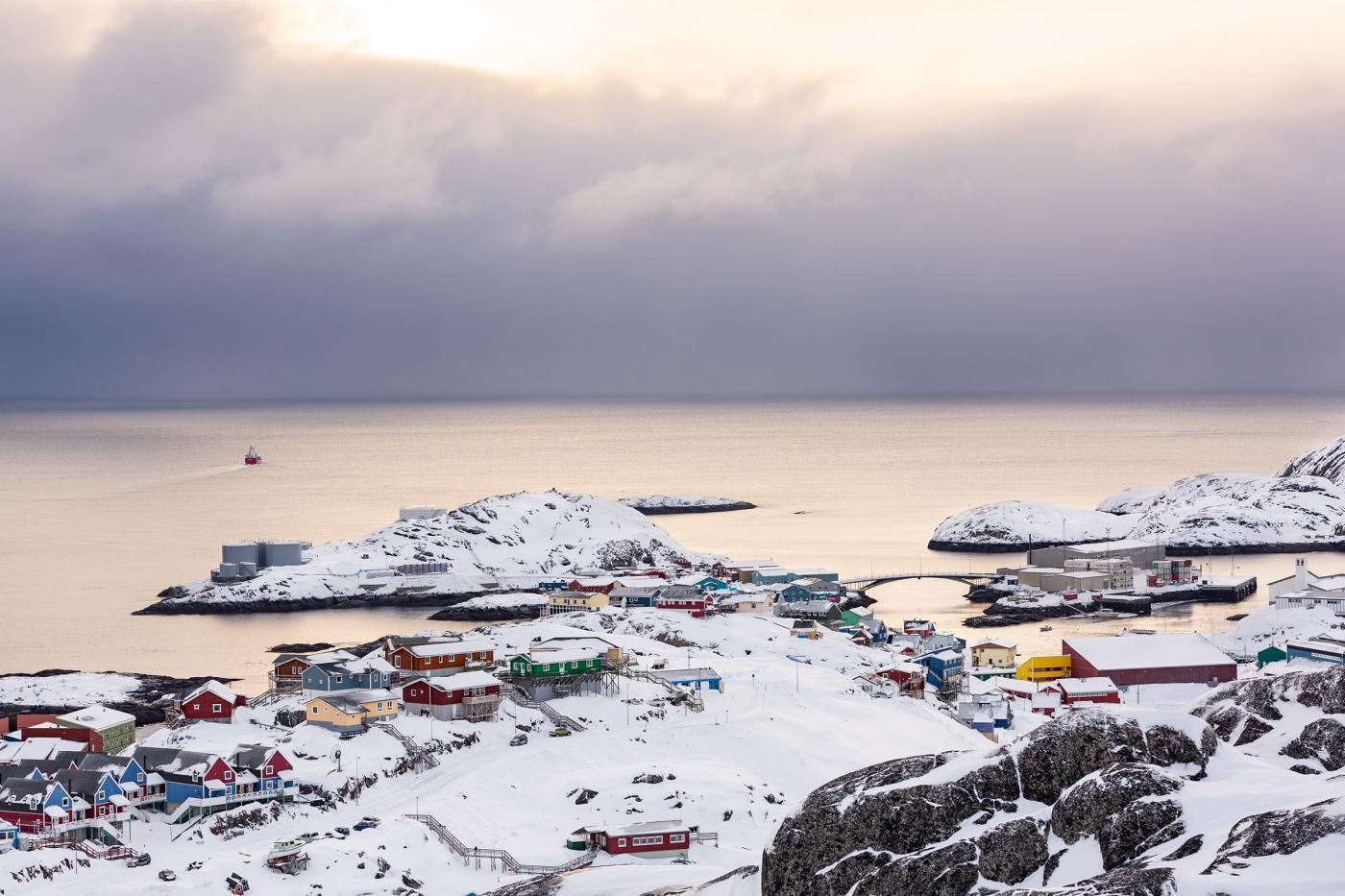 Panorama over Maniitsoq - Photo by Filip Gielda, Visit Greenland