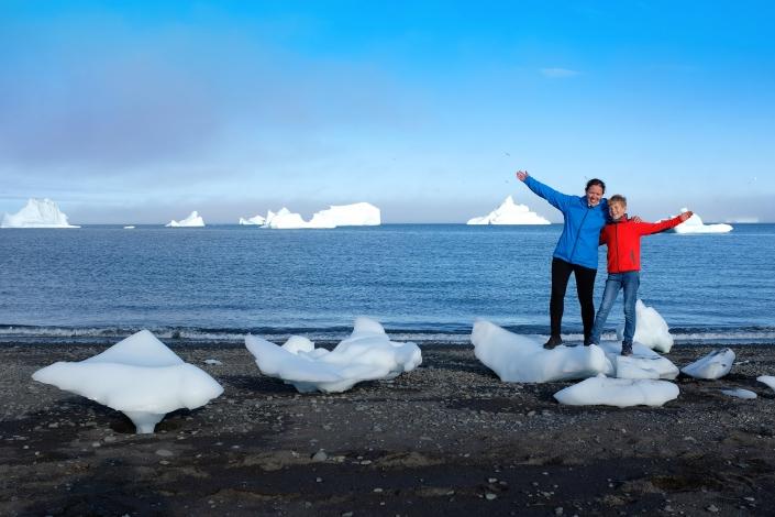 Tips for visiting Greenland with kids. Photo by Jurga Rubinovaite
