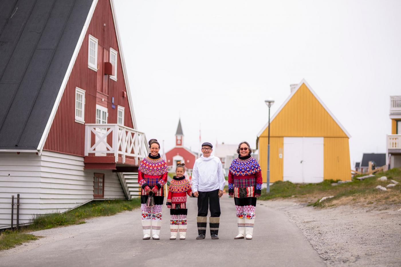 Traditional Clothing On National Day. Photo - Aningaaq R. Carlsen, Visit Greenland