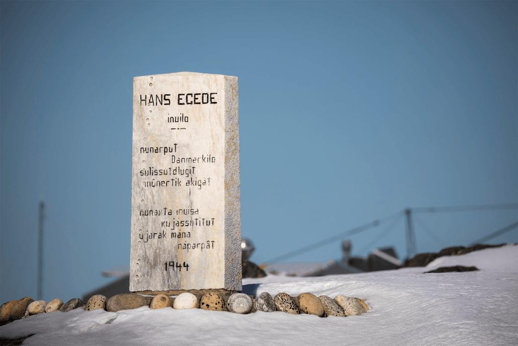 Hans Egede memorial in Nuuk. Photo by Aningaaq R. Carlsen - Visit Greenland