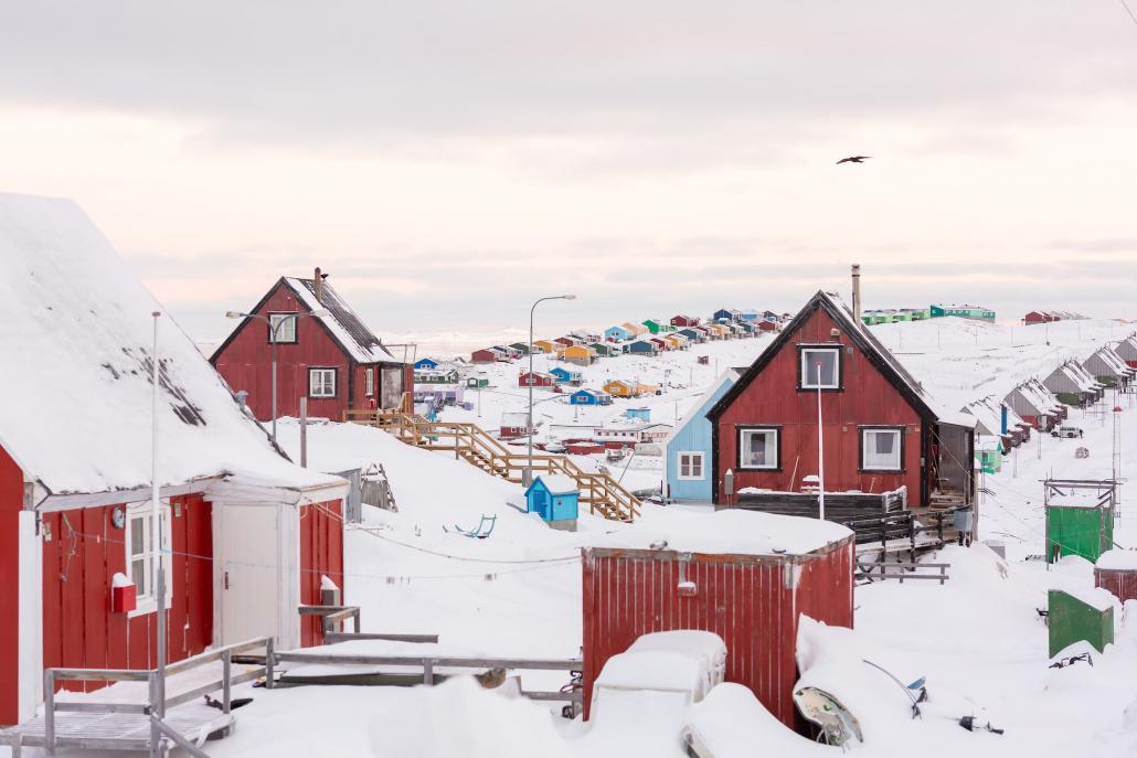 House Row in Aasiaat. Photo - Filip Gielda, Visit Greenland