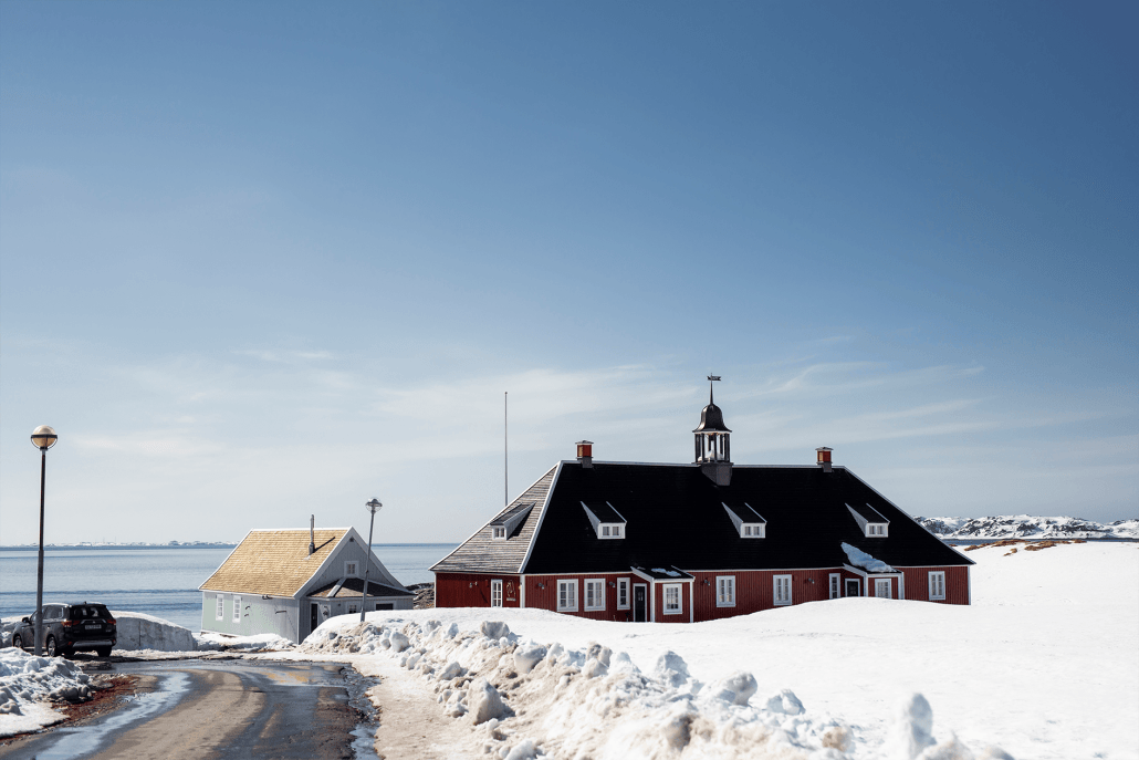 Hermhut House (the first University of Greenland). Photo by Aningaaq R. Carlsen - Visit Greenland.
