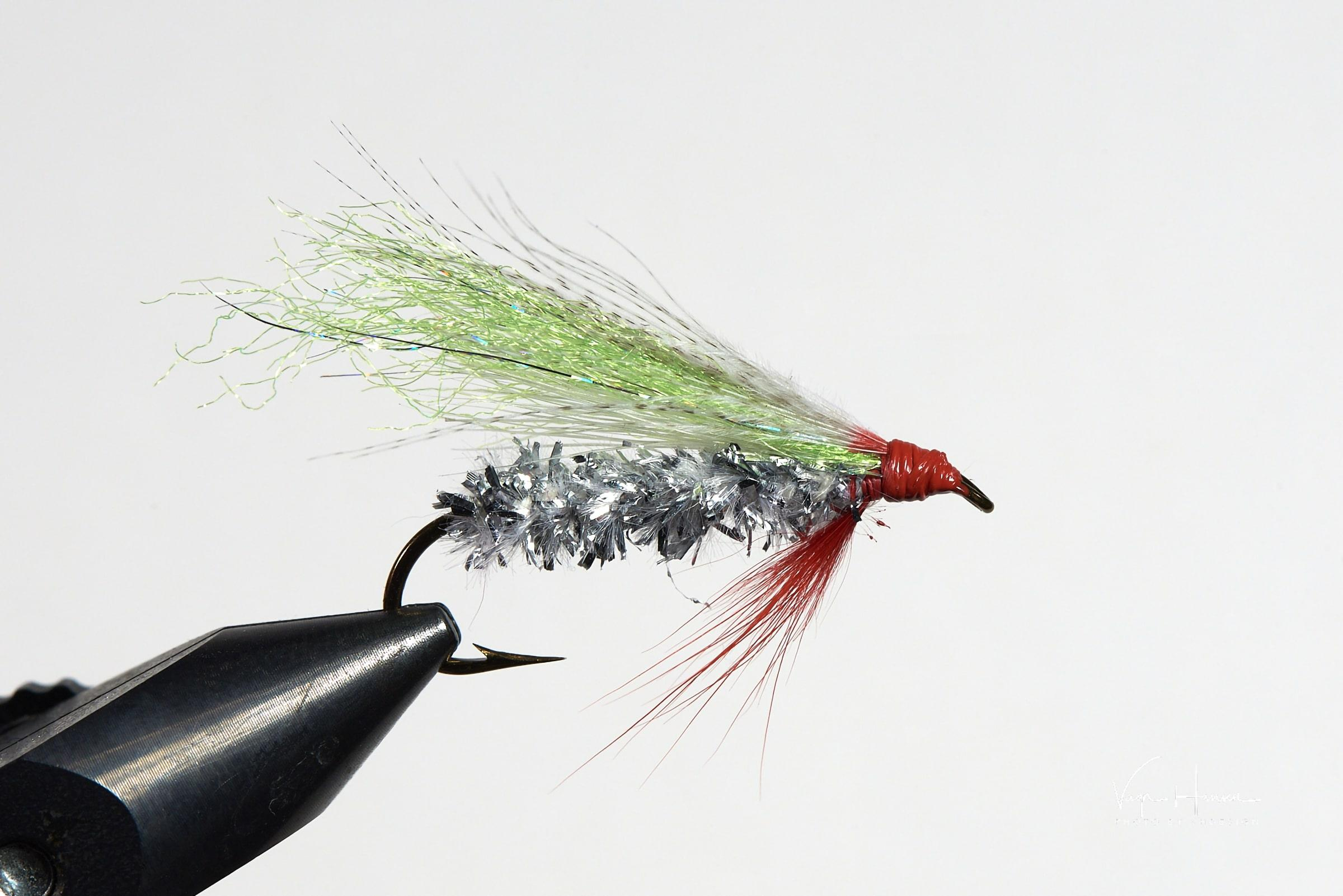 Smolt Fly fishy type. Photo by Vagn Hansen - Visit Greenland