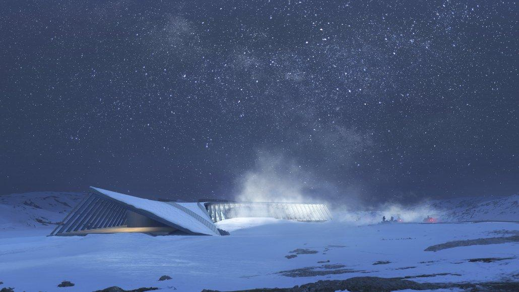 Render_Icefjord Center_Expedition_IMAGE 2 BY MIR
