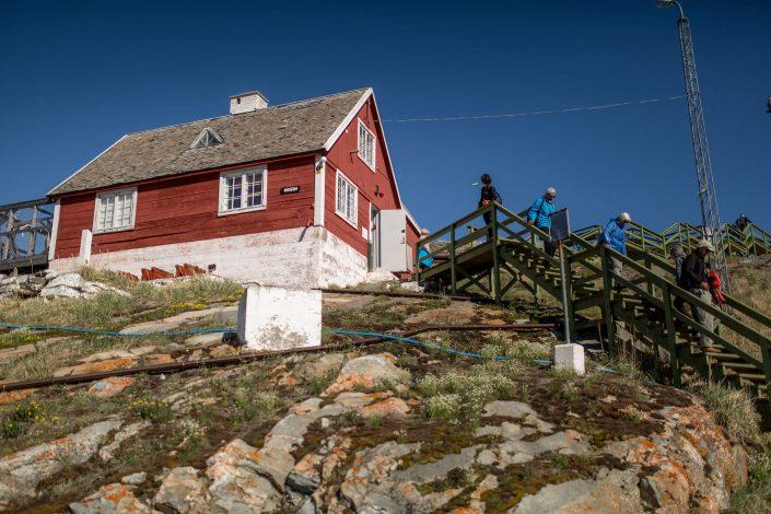 A part of Qasigiannguit Museum in Greenland. By Mads Pihl