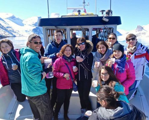 ABC Charter winter boat tour