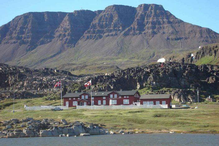 Arctic station in Qerqertarsuaq. Photo by Visit Greenland