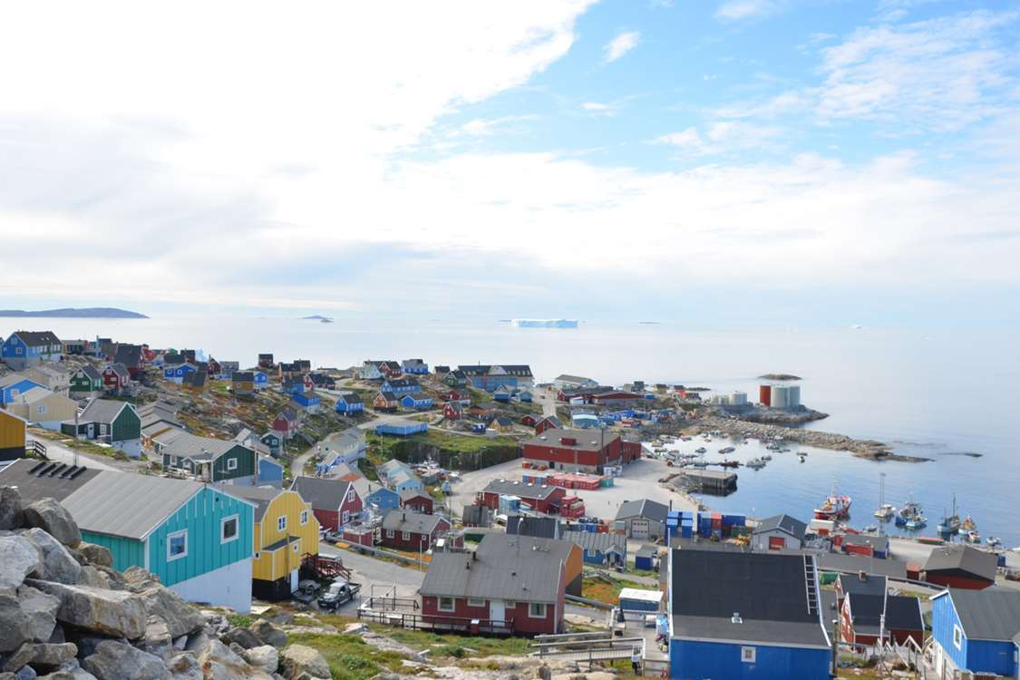 View over Upernavik. Photo by John Kislov