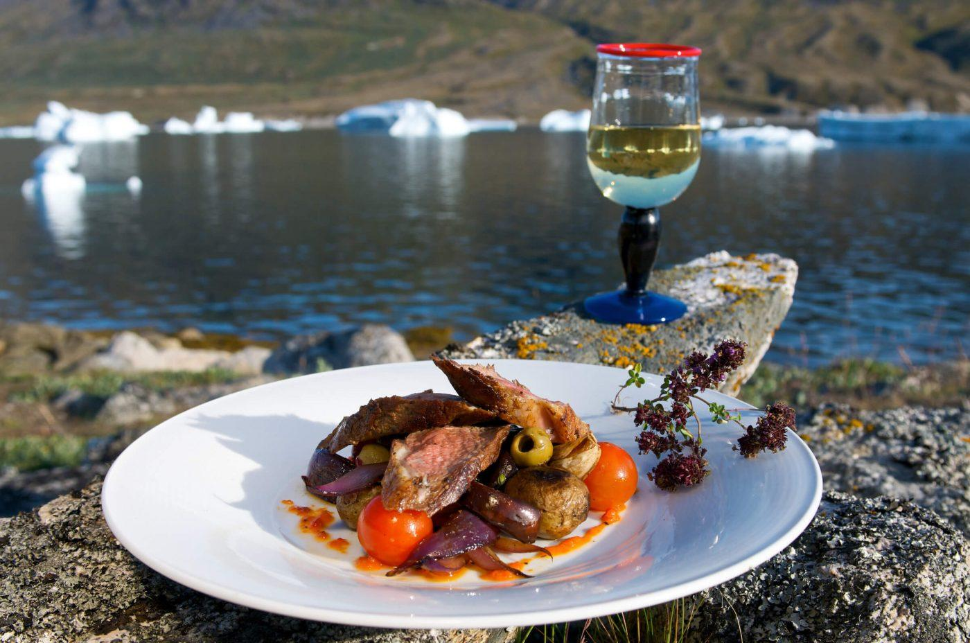 Greenlandic lamb dish, by Ace and Ace