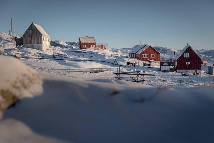 Hotel Nordlys in the village Oqaatsut in Greenland. Photo by Mads Pihl - Visit Greenland