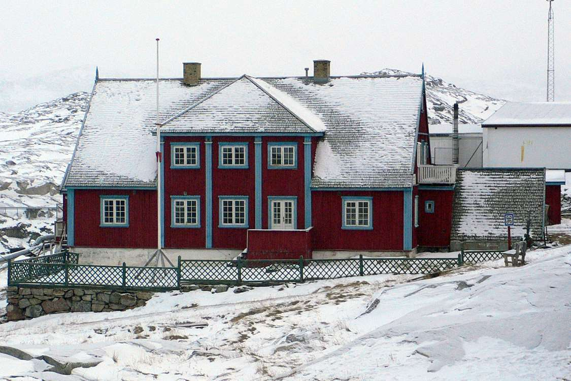 The local art museum in Ilulissat in Winter. Photo by Ilulissat Art Museum
