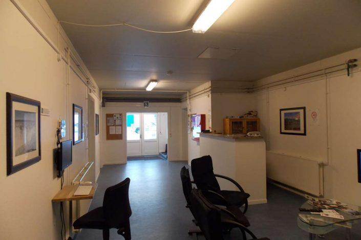 Reception an common area. Photo by Kangerlussuaq Youth Hostel - Visit Greenland