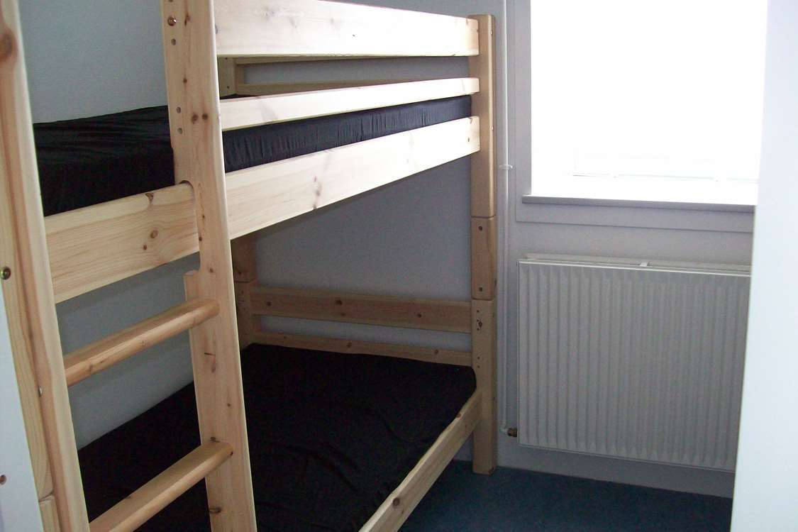 Bunkbed room. Photo by Kangerlussuaq Youth Hostel - Visit Greenland