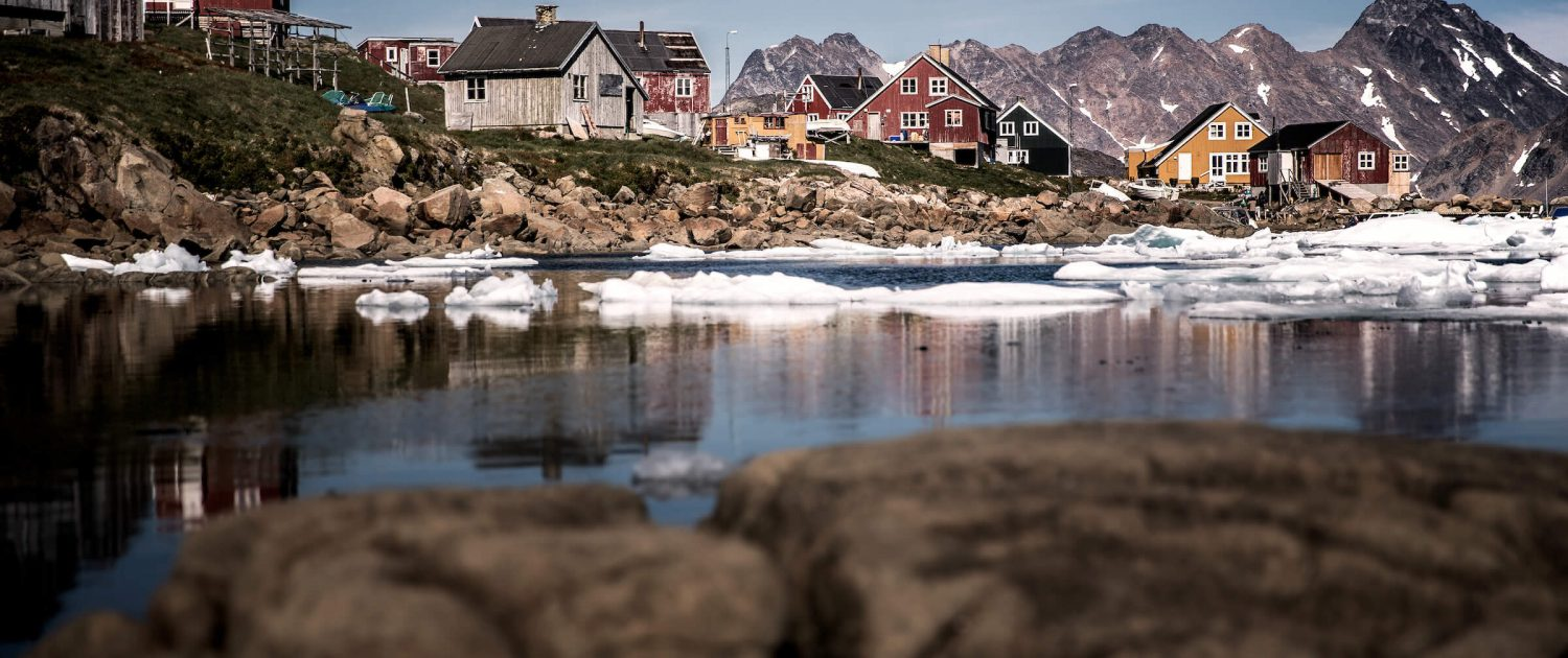 Kulusuk in East Greenland