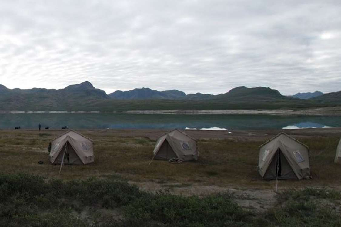 Camping area in Greenland. Photo by Major Hunting