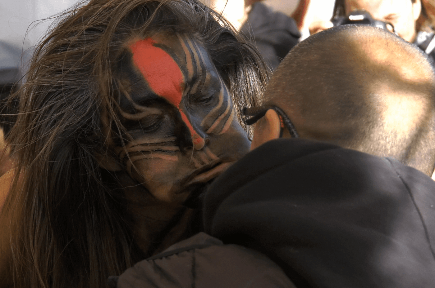 Mask dance, A Music Festival in the Fjord. Photo by Aningaaq Rosing Carlsen.