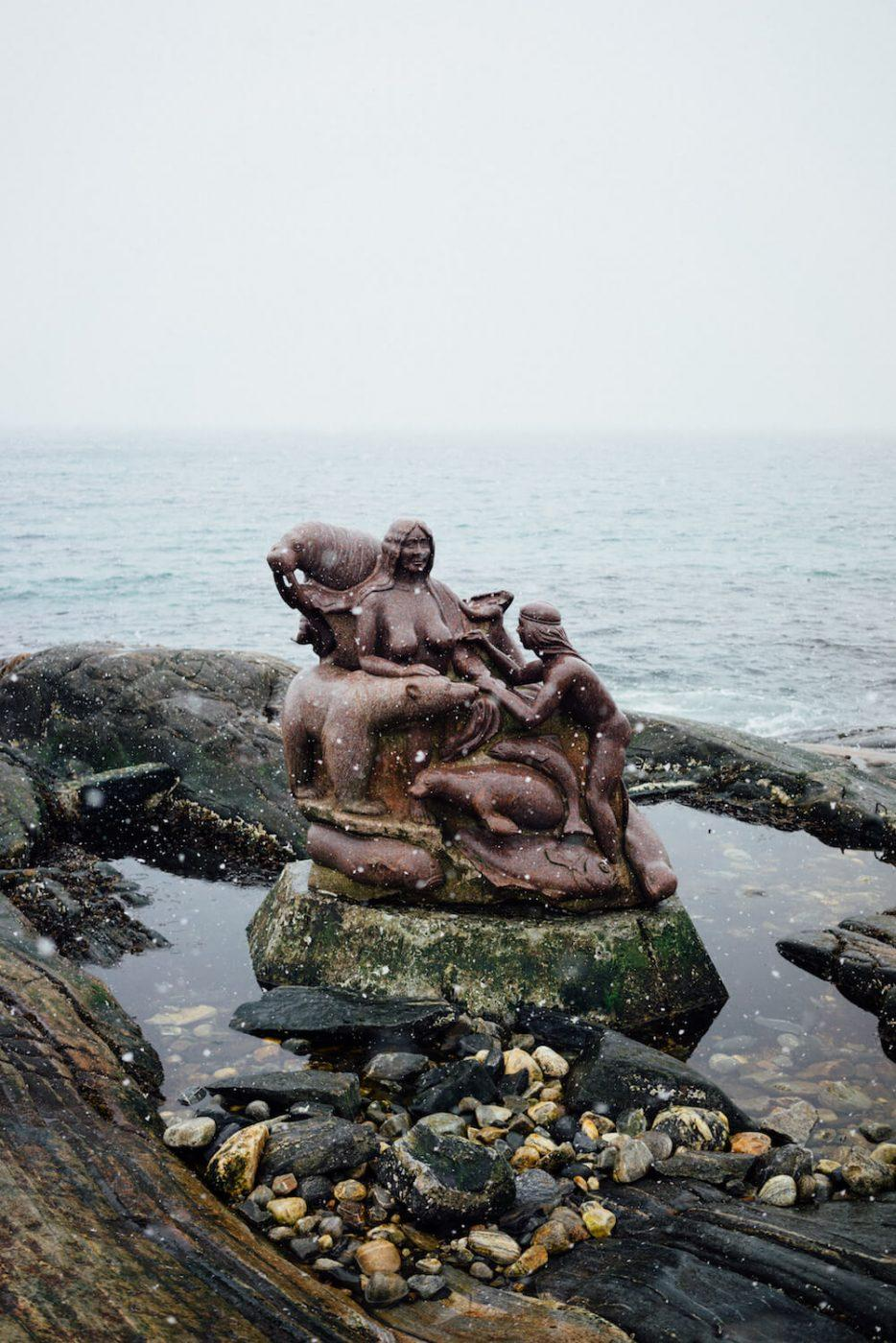 The statue of The Mother of the Sea. Photo By Jessie Brinks Evans