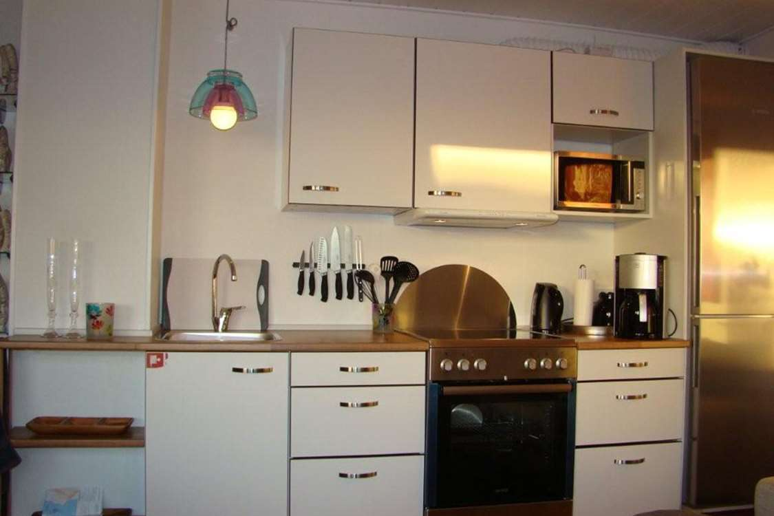 Kitchen area. Photo by Nuuk Inn and Wellness.